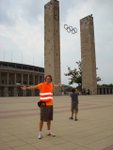 Berlin Olympic Stadium Start Point of EME